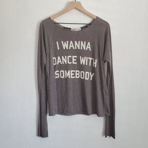 WILDFOX I wanna dance with somebody Longsleeve S